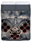 Vostok Rocket Engine Duvet Cover