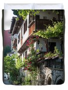 V. Turnovo Old City Street View - Bulgaria Duvet Cover