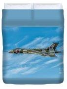Vulcan Bomber Duvet Cover by Adrian Evans