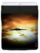 Vulcan Fire  Duvet Cover