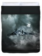 Vulcan Storm Duvet Cover