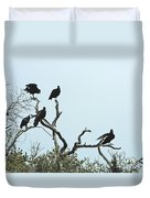 Vulture Club Duvet Cover