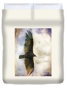 Vulture In Color Duvet Cover