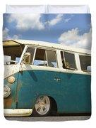 Vw Lowrider Bus Duvet Cover