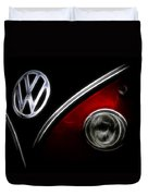 Vw Micro Bus Logo Duvet Cover