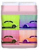 Vw Pop Spring Duvet Cover