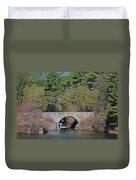 Wachusett Reservoir Spillway 6 Duvet Cover