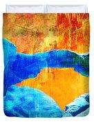 Wadi Rum Natural Arch 2 Duvet Cover