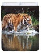 Wading Tiger Duvet Cover