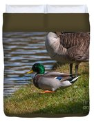 Wadlding To The Water Duvet Cover