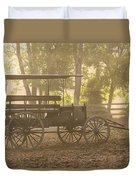 Wagon - Abe's Buggie Duvet Cover