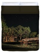 Wagon And Stars 2am 115859and115863_stacked Duvet Cover