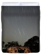 Wagon And Stars 2am 115864and115870 Stacked Image Duvet Cover