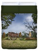 Wagon-hill Country Texas V2 Duvet Cover
