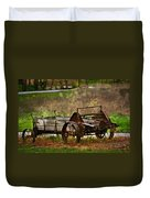Wagon Duvet Cover by Marty Koch