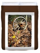 Wagon Wheel Daffodil Duvet Cover