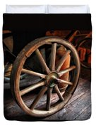 Wagon Wheels Duvet Cover