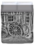Wagons Lost Duvet Cover by Crystal Nederman