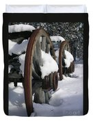 Wagons West Duvet Cover