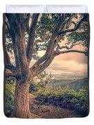 Waihee Ridge Trail Maui Hawaii Duvet Cover