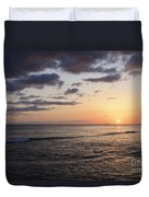 Waikiki Sunset Duvet Cover
