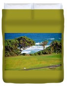 Wailua Golf Course - Hole 17 - 2 Duvet Cover