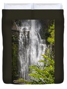 Wailua Waterfall Duvet Cover