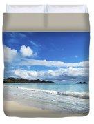 Waimanalo And Bellows Beach 1 Duvet Cover