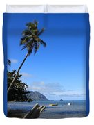 Waimanalo Beach  Duvet Cover