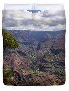 Waimea Canyon 5 - Kauai Hawaii Duvet Cover
