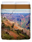 Waimea Canyon 1 Duvet Cover