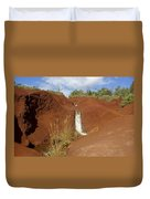 Waimea Waterfall Duvet Cover