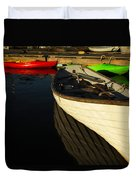 Waiting At The Dock Duvet Cover