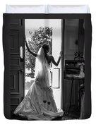 Waiting Bride Duvet Cover