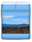 Waiting For Winter In The Blue Ridge Mountains Duvet Cover
