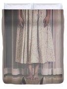 Waiting Ghost Duvet Cover by Joana Kruse