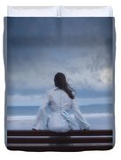 Waiting In The Wind Duvet Cover by Joana Kruse