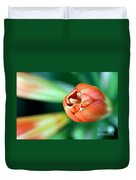 Waiting To Bloom Duvet Cover