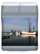 Waiting To Work Duvet Cover