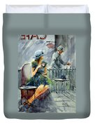 Waiting With Hope Duvet Cover