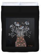 Wake Up And See The Flowers Duvet Cover
