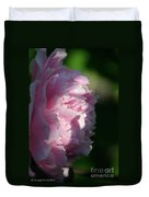 Wake Up Pink Peony Duvet Cover