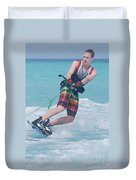 Wakeboarding Style Duvet Cover