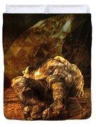 Waking Lazarus Duvet Cover