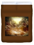 Walden Pond In Pennsylvania Duvet Cover