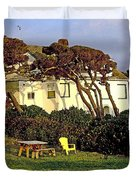 Waldport Beach House Duvet Cover