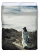 Walk In The Wind Duvet Cover by Joana Kruse