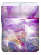 Walk On Water - Abstract Art Duvet Cover