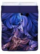 Walk Through The Petals Abstract Duvet Cover