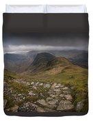 Walk To Hay Stacks Lake District Duvet Cover